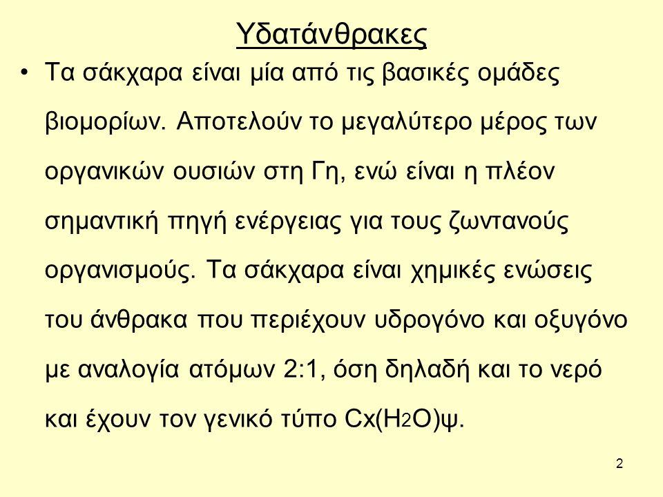 23 ΔΙΣΑΚΧΑΡΙΤΕΣ