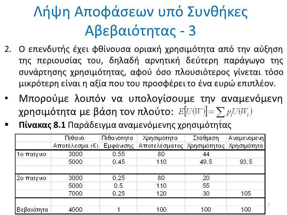 Η Υπόθεση της Αποτελεσματικότητας των Αγορών - 6  Το υπόδειγμα του τυχαίου περιπάτου αρνείται τη δυνατότητα πρόβλεψης των τιμών των αξιόγραφων μόνο από τη χρονολογική σειρά των τιμών.