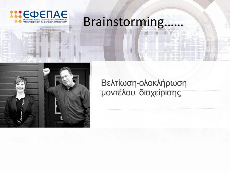 Brainstorming……