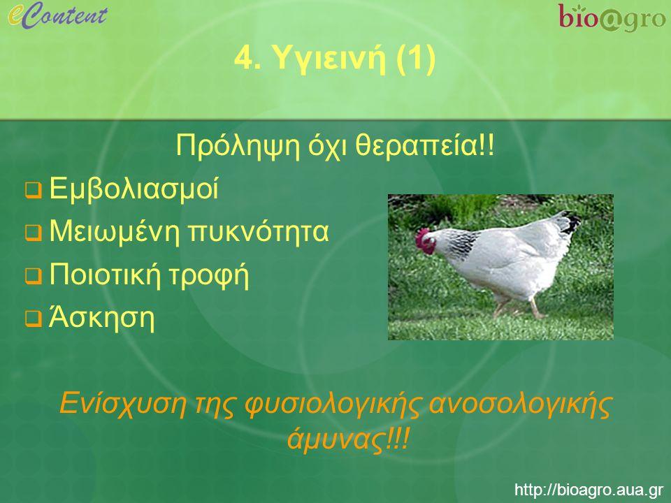 http://bioagro.aua.gr 4. Υγιεινή (1) Πρόληψη όχι θεραπεία!.