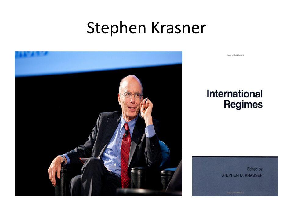 Stephen Krasner