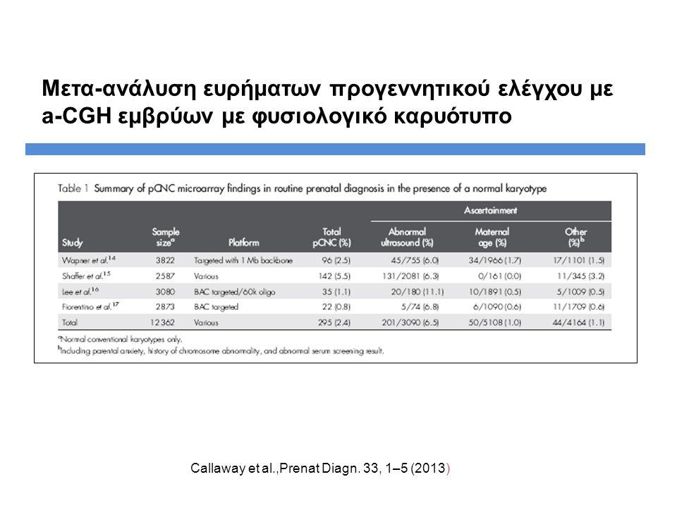 Callaway et al.,Prenat Diagn.