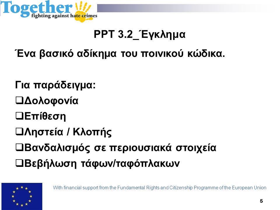 PPT 4.2_Μοντέλα Μοντέλο εχθρότητας: Ο δράστης διαπράττει το αδίκημα λόγω εχθρότητας, μίσους ή αντιπάθειας εναντίον της ομάδας στόχου.