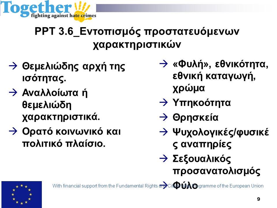 PPT 4.6_Ευρωπαϊκό Δικαστήριο των Δικαιωμάτων του Ανθρώπου Νομολογία Καθήκον να διερευνά και να φέρνει ενώπιον της Δικαιοσύνης εγκλήματα με κίνητρο προκατάληψης:  Υπόθεση Angelova and Illiev v.