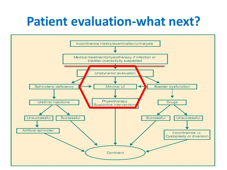 Patient evaluation-what next