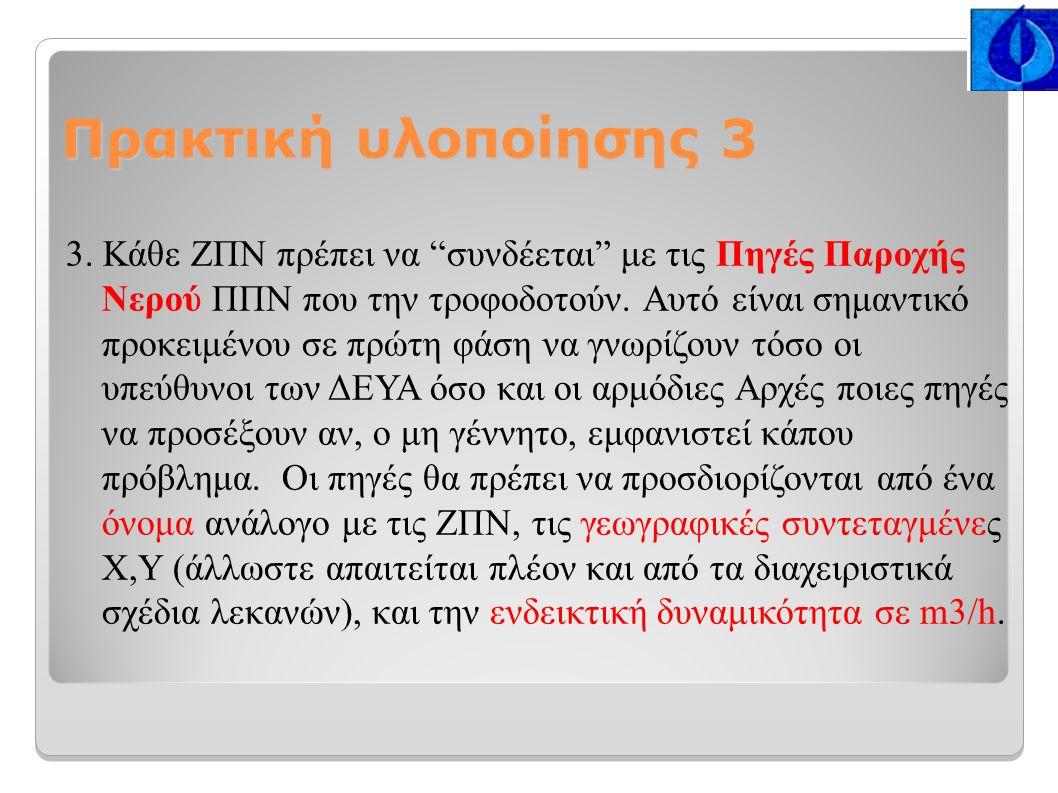 Πρακτική υλοποίησης 3 3.