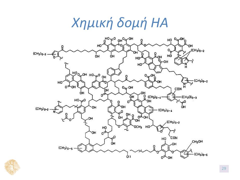 Χημική δομή ΗΑ 29