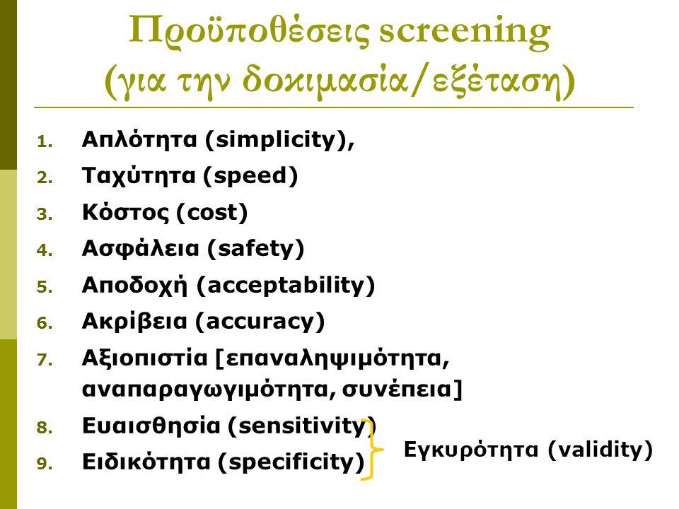 1. Απλότητα (simplicity), 2. Ταχύτητα (speed) 3.