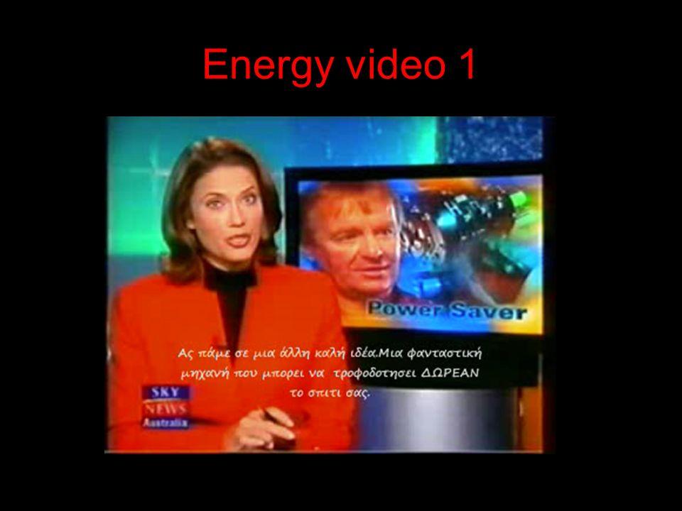 Energy video 1