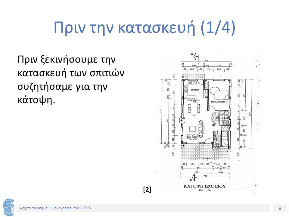 8 Αρχιτεκτονική και Εικονογραφημένο Βιβλίο Πριν την κατασκευή (1/4) Πριν ξεκινήσουμε την κατασκευή των σπιτιών συζητήσαμε για την κάτοψη.