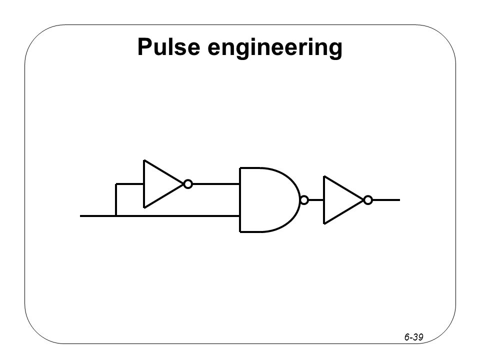 6-39 Pulse engineering