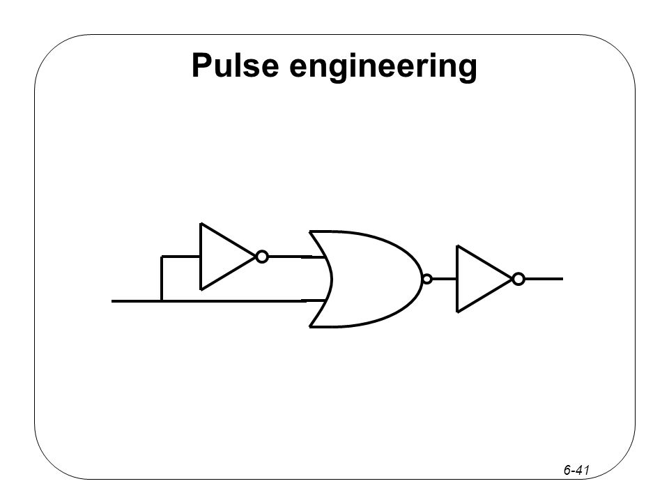 6-41 Pulse engineering