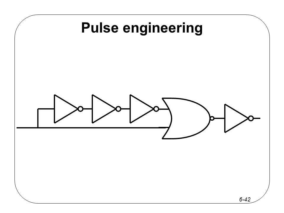6-42 Pulse engineering