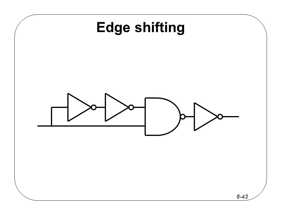 6-43 Edge shifting