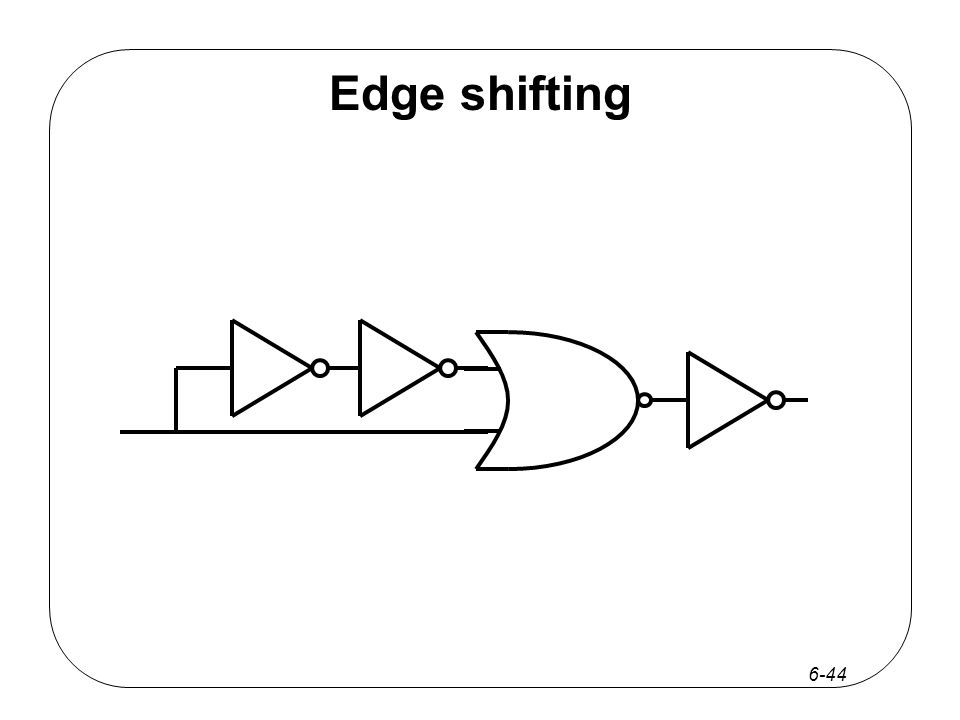 6-44 Edge shifting