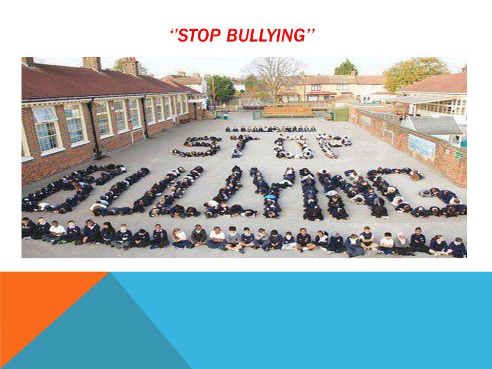 ''STOP BULLYING''