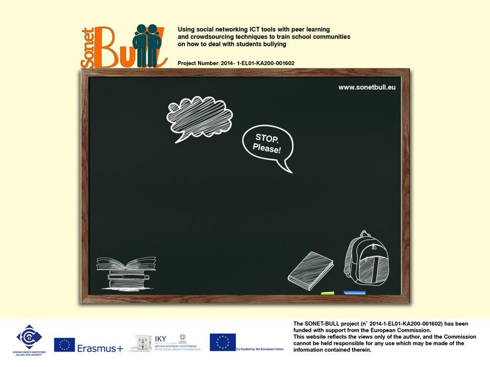 Μορφές σχολικού εκφοβισμού Ηλεκτρονικός ( αποστολή υβριστικού ή απειλητικού υλικού, δημοσίευση φωτογραφιών, διάδοση φημών μέσω e- mails, MMS, SMS των κινητών τηλεφώνων και των μέσων κοινωνικής δικτύωσης)