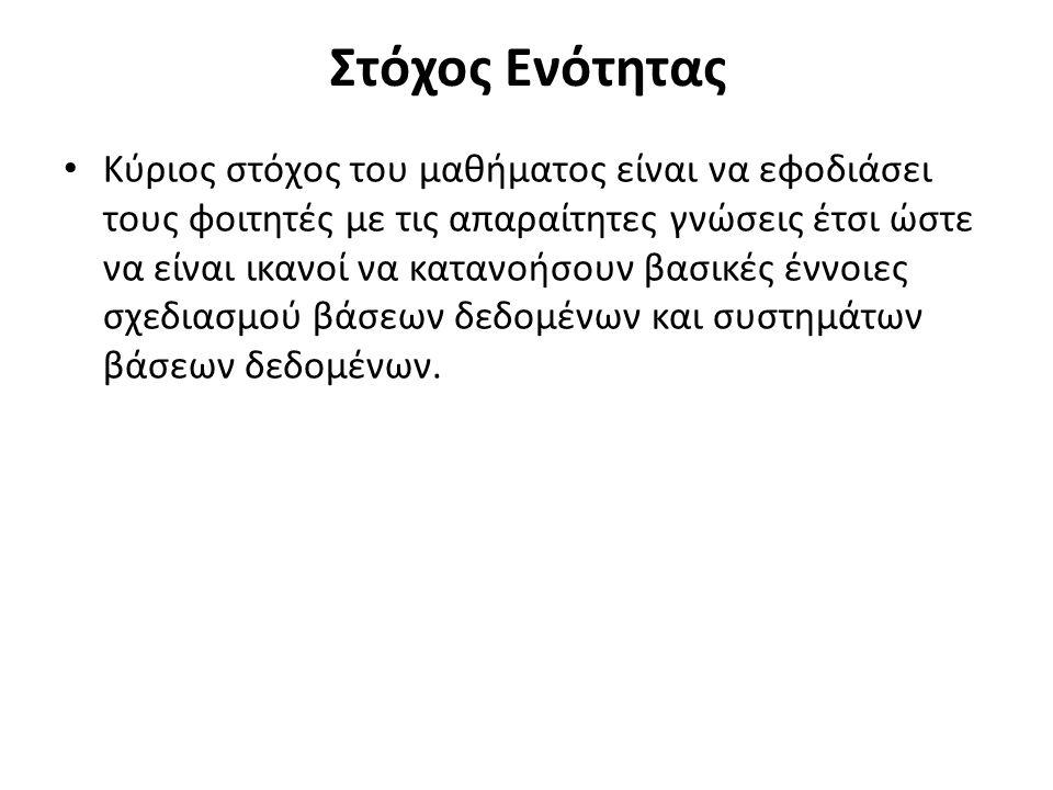 Μοντέλο Οντοτήτων Συσχετίσεων με Συμβολισμό Navathe Elmasri Αμερικανικές Προεδρικές Εκλογές