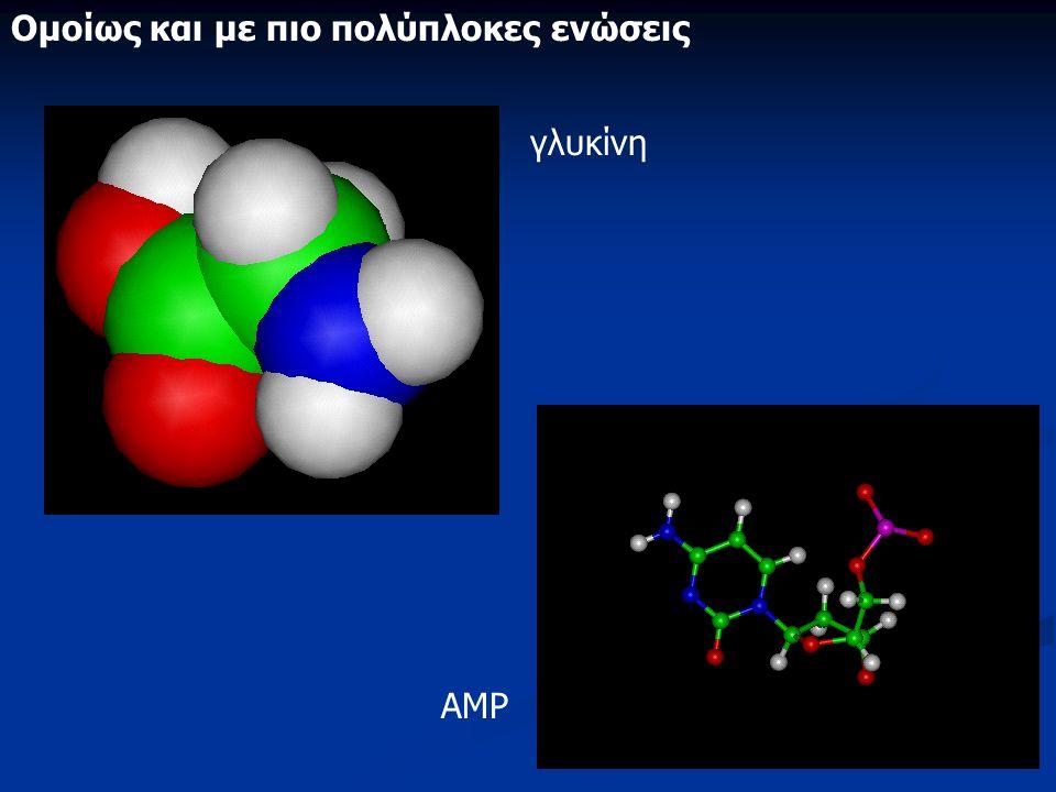 78 Ομοίως και με πιο πολύπλοκες ενώσεις γλυκίνη ΑΜΡ