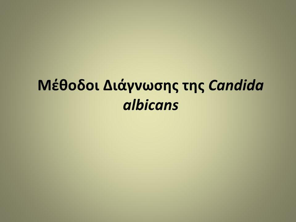 Μέθοδοι Διάγνωσης της Candida albicans