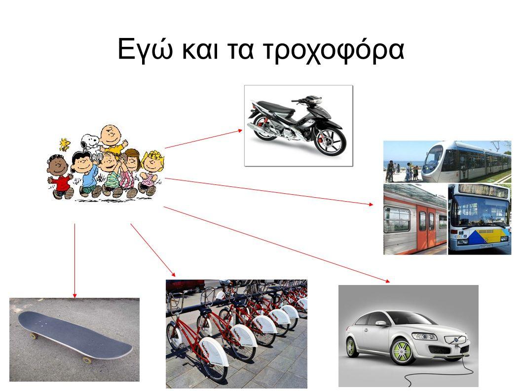 Εγώ και τα τροχοφόρα