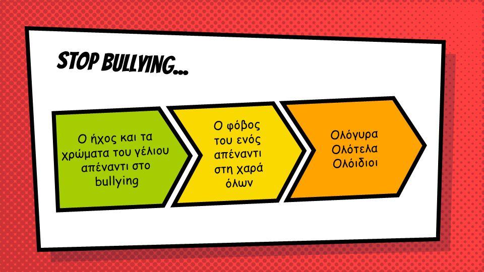 Stop bullying...