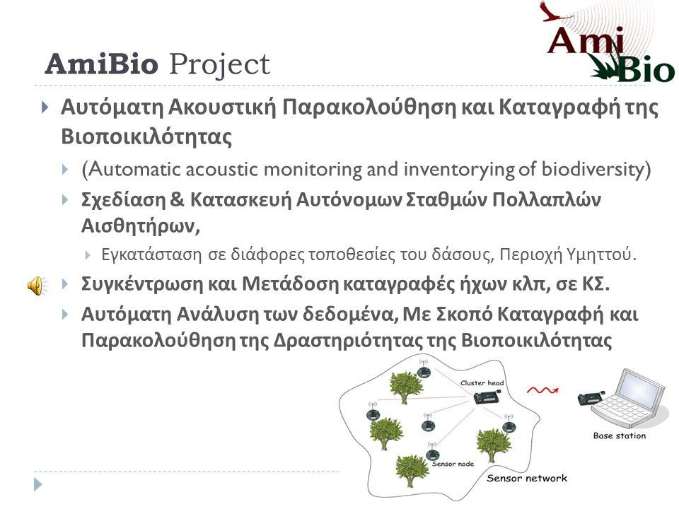 AmiBio Project 111 Πανεπιστήμιο Πατρών,