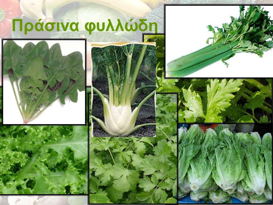 Πράσινα φυλλώδη