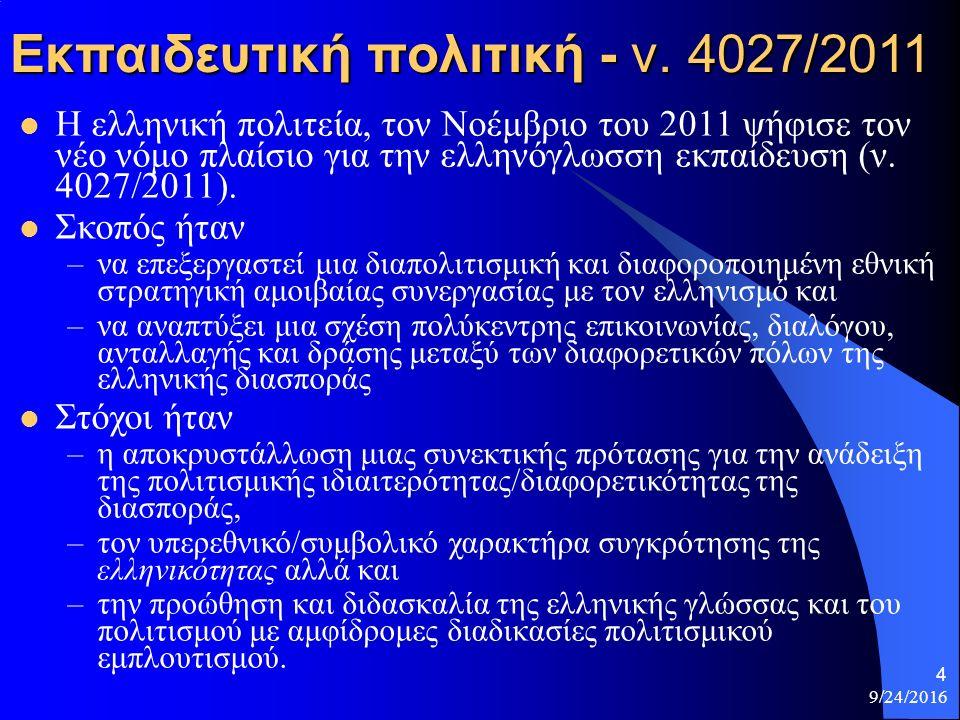 9/24/2016 4 Εκπαιδευτική πολιτική - ν.