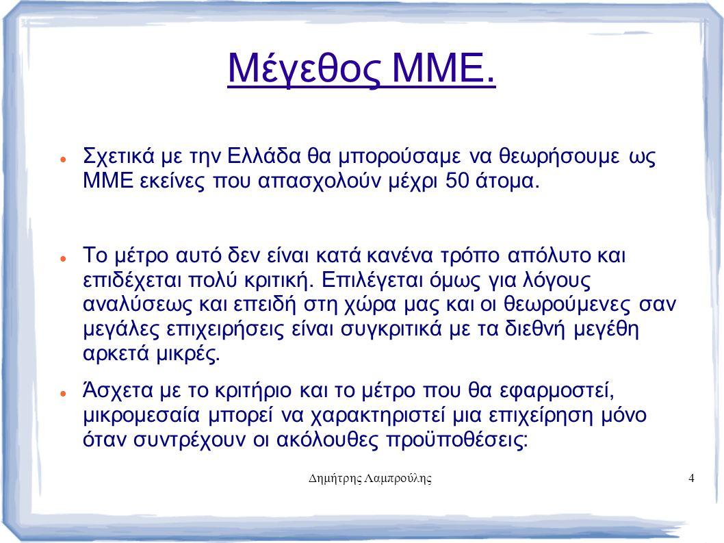 Δημήτρης Λαμπρούλης4 Μέγεθος ΜΜΕ.
