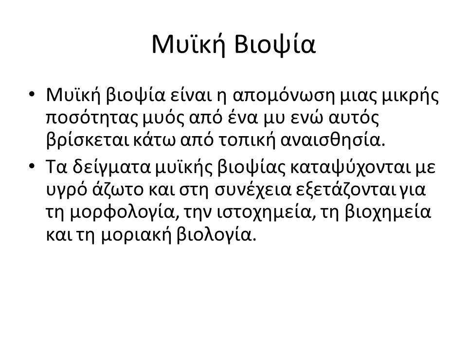 Μυϊκή Βιοψία