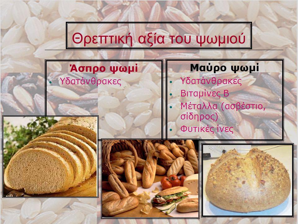 10 Με το κριθάρι φτιάχνουμε: Ζωοτροφές Αλεύρι