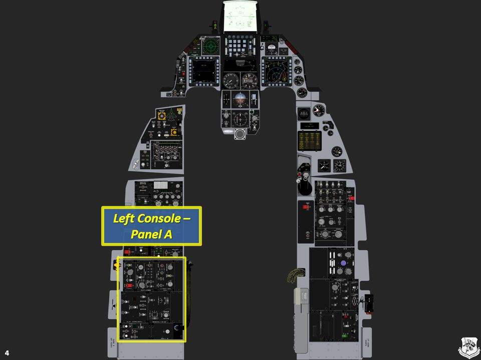 Helmet Mounted Cueing System (HMCS) Panel 105