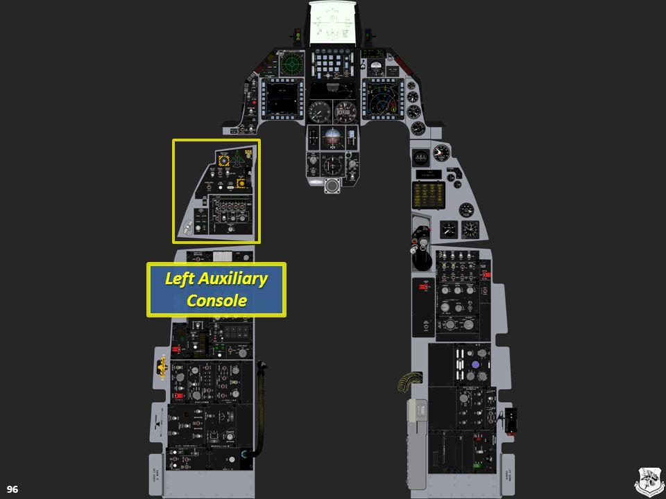 Left Auxiliary Console Left Auxiliary Console 96