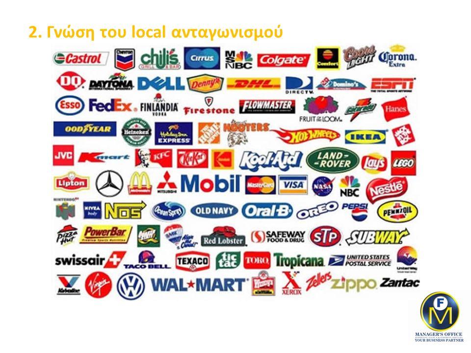 2. Γνώση του local ανταγωνισμού