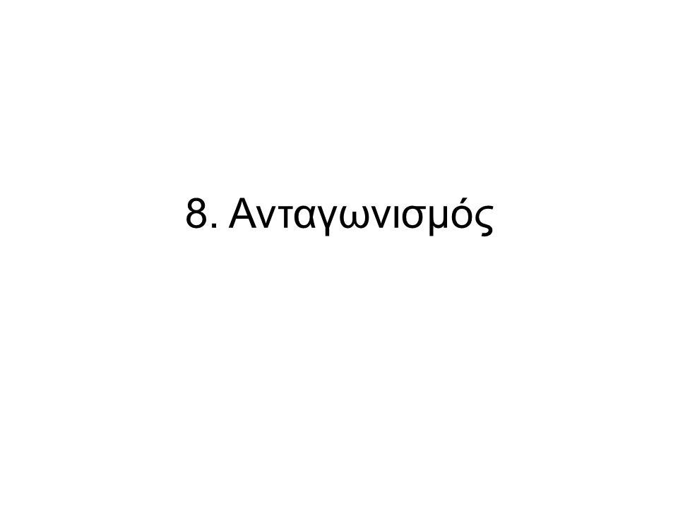 8. Ανταγωνισμός