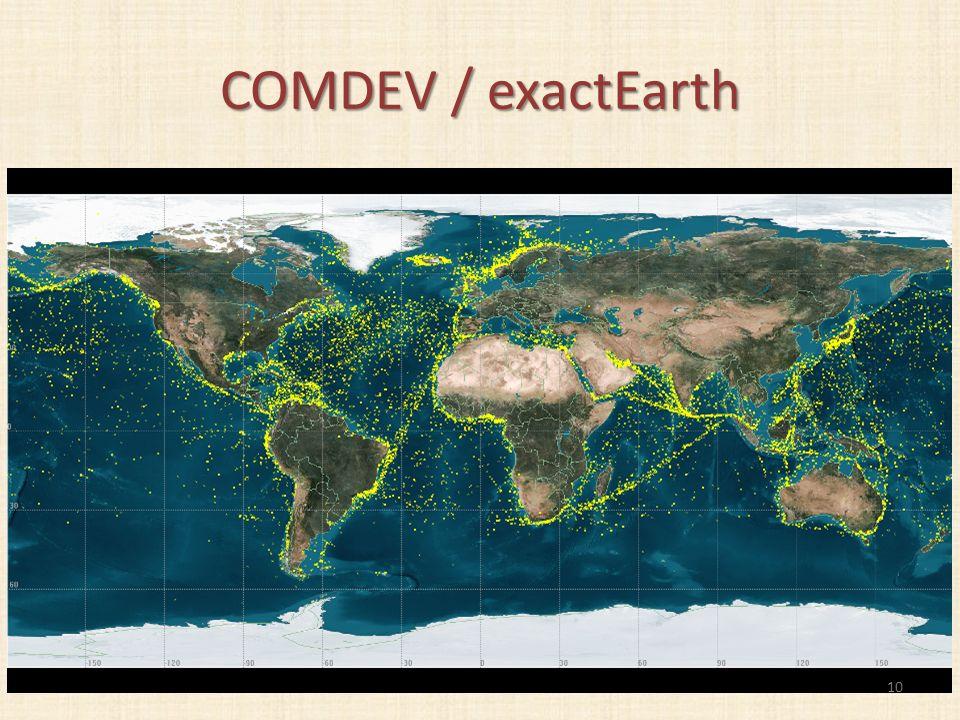 COMDEV / exactEarth 10