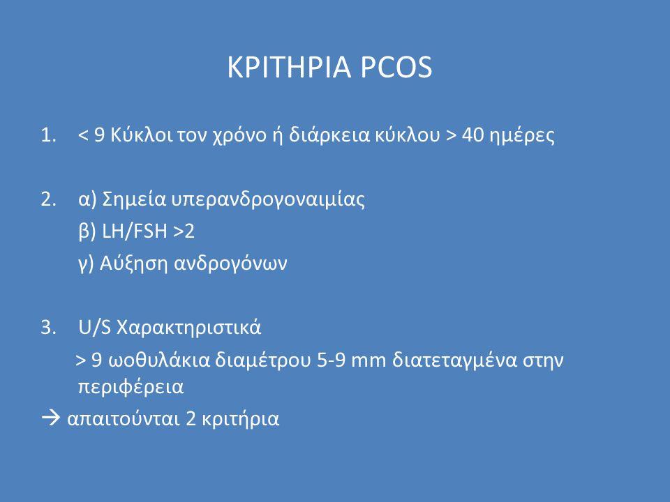 ΚΡΙΤΗΡΙΑ PCOS 1.