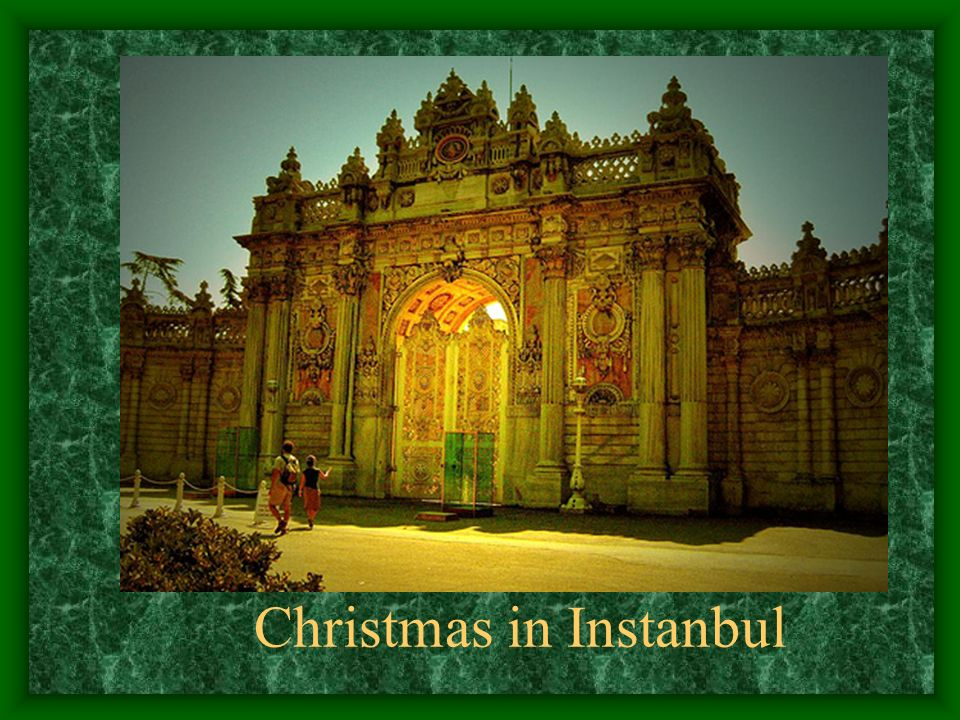 Christmas in Instanbul