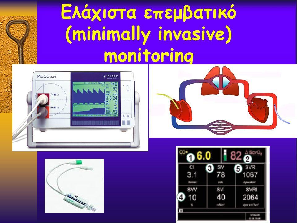Ελάχιστα επεμβατικό (minimally invasive) monitoring