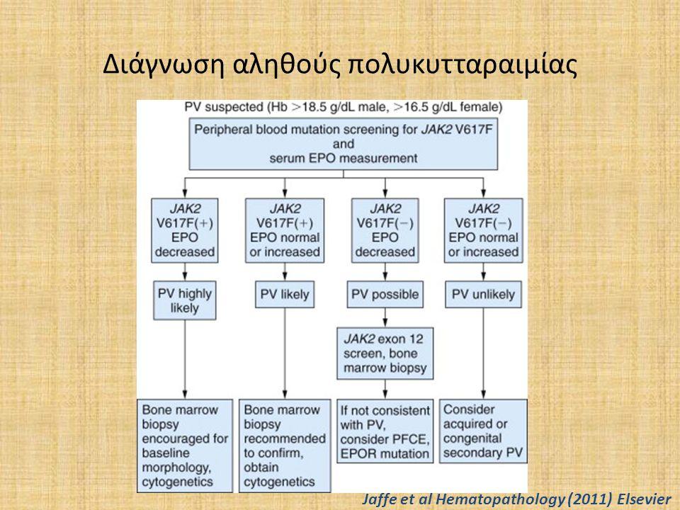 Διάγνωση αληθούς πολυκυτταραιμίας Jaffe et al Hematopathology (2011) Elsevier
