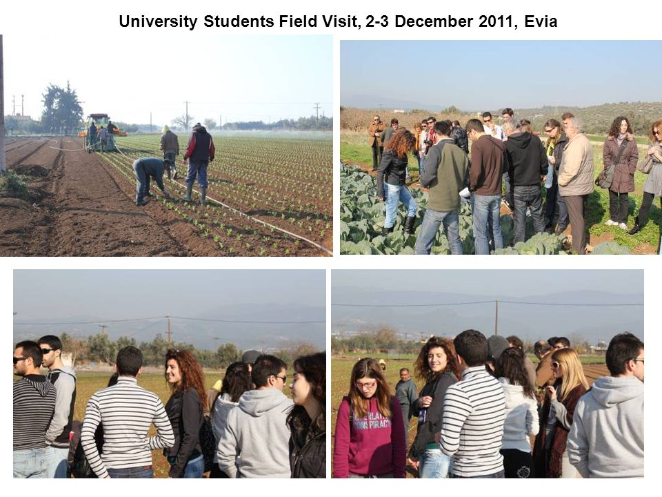 University Students Field Visit, 2-3 December 2011, Evia