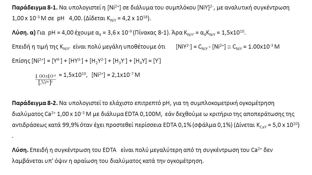 Παράδειγμα 8-1.