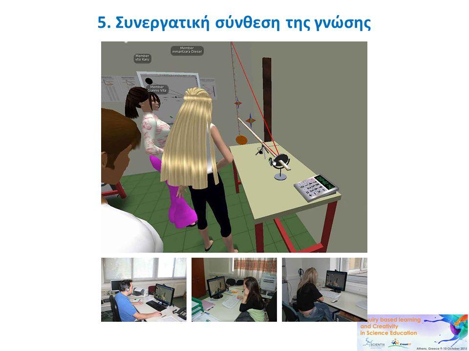 5. Συνεργατική σύνθεση της γνώσης