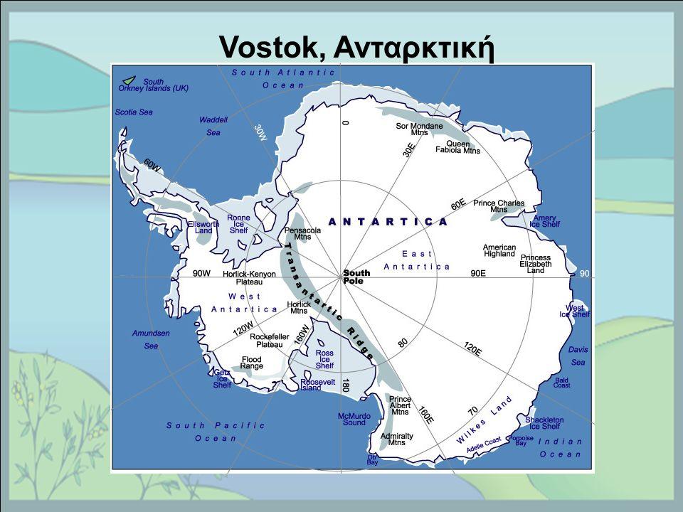 Vostok, Ανταρκτική