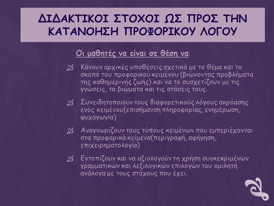 ΜΕΘΟΔΟΙ ΚΑΙ ΤΕΧΝΙΚΕΣ 1.Καταιγισμός ιδεών 2.Ερωτοαπαντήσεις 3.Ομαδοσυνεργατική 4.Συζήτηση 5.Ανακαλυπτική 6.Έχει τη μορφή του σχεδίου Project