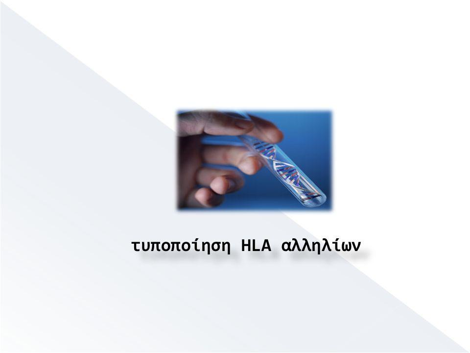 τυποποίηση HLA αλληλίων