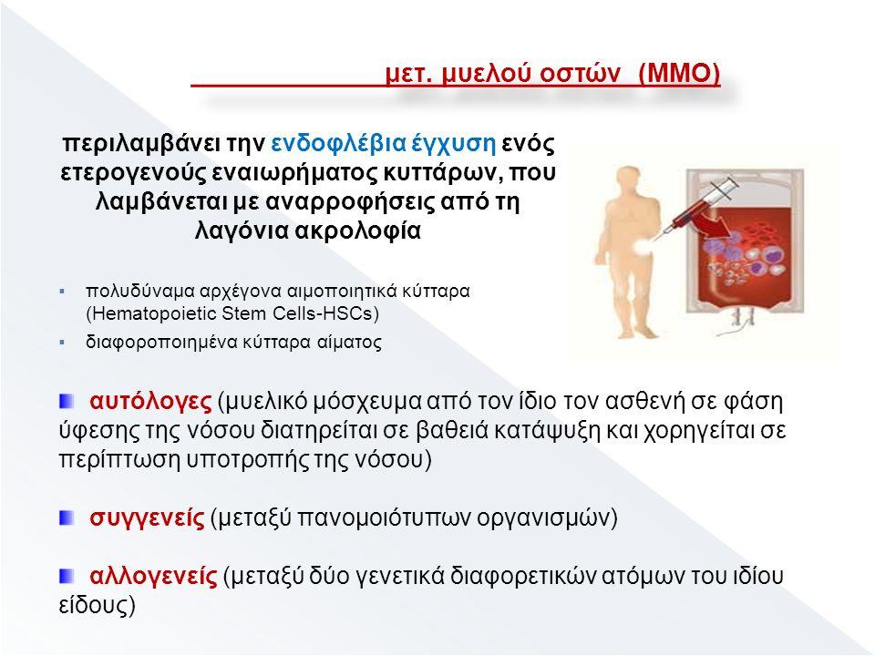 μετ. μυελού οστών (ΜΜΟ) μετ.
