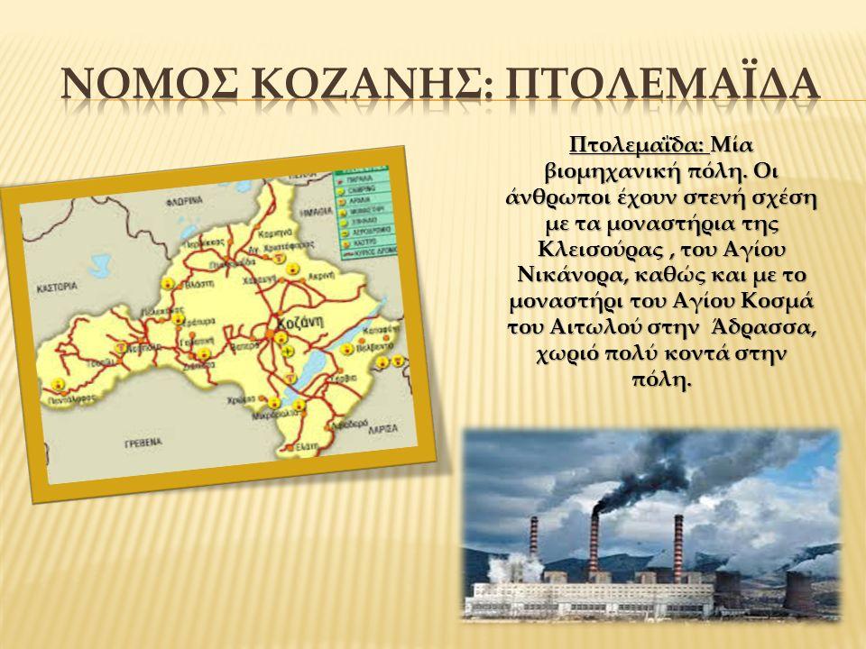 Πτολεμαΐδα: Μία βιομηχανική πόλη.