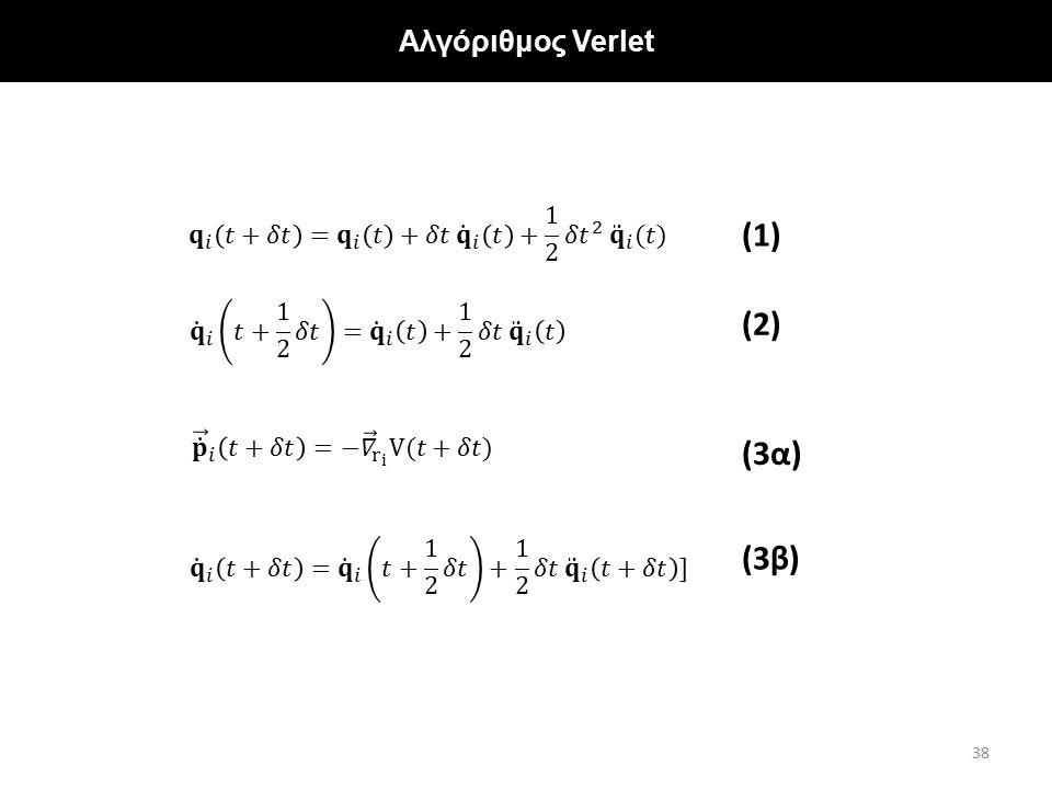 """Αποτελέσματα για φύλλα γραφενίου με """"σταθερά"""" άκρα Αλγόριθμος Verlet 38 (1) (2) (3α) (3β)"""